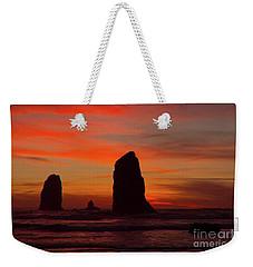 Sunset Coast Weekender Tote Bag