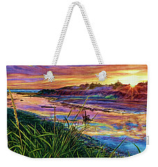 Sunset Creation Weekender Tote Bag