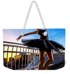 Sunset Dancer Weekender Tote Bag