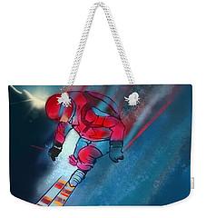 Sunset Extreme Ski Weekender Tote Bag