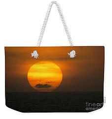 Sunset Fireball Weekender Tote Bag