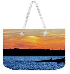 Sunset Fisherman  Weekender Tote Bag