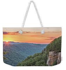 Sunset Flare Weekender Tote Bag