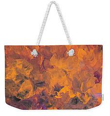 Sunset Flowers Weekender Tote Bag