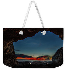 Sunset From Brady's Cave Weekender Tote Bag