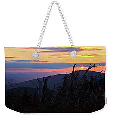 Sunset From Caps Ridge, Mount Jefferson Weekender Tote Bag