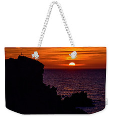 Sunset From Costa Paradiso Weekender Tote Bag