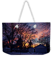 Sunset From My View Weekender Tote Bag