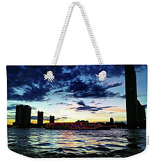Sunset From The Boat On The Way To Weekender Tote Bag