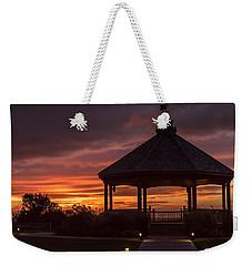 Sunset Gazebo Lavallette New Jersey Weekender Tote Bag