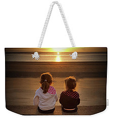 Sunset Girls Weekender Tote Bag by Lynn Bolt