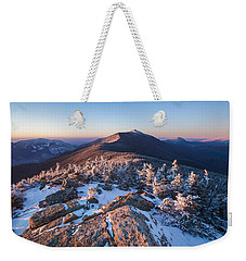Sunset Glow On Franconia Ridge Weekender Tote Bag