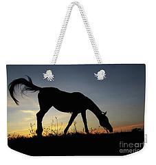 Sunset Horse Weekender Tote Bag