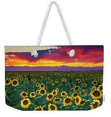 Sunset Hour Weekender Tote Bag