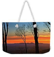 Sunset Hues Weekender Tote Bag