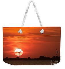 Sunset Husum Weekender Tote Bag
