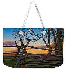 Sunset In Antietam Weekender Tote Bag by Ronald Lutz