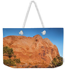 Sunset In Arches National Park Weekender Tote Bag