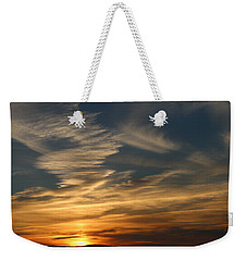 Weekender Tote Bag featuring the photograph Sunset In Bar Harbor by Living Color Photography Lorraine Lynch
