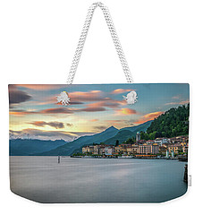 Sunset In Bellagio On Lake Como Weekender Tote Bag