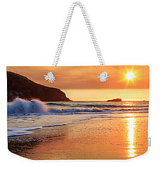 Weekender Tote Bag featuring the photograph Sunset In Brookings by James Eddy