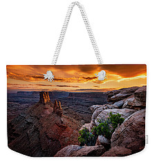 Sunset In Canyonlands Weekender Tote Bag