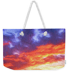 Sunset In Carolina Weekender Tote Bag