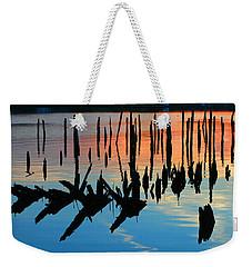 Sunset In Colonial Beach Virginia Weekender Tote Bag