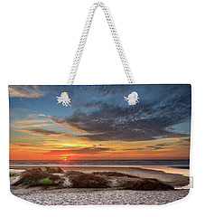 Weekender Tote Bag featuring the photograph Sunset In Florence by James Eddy