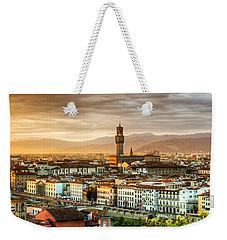 Sunset In Florence Weekender Tote Bag