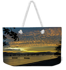 Sunset In Florianopolis Weekender Tote Bag