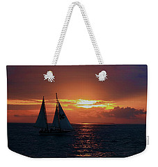 Sunset In Key West Weekender Tote Bag