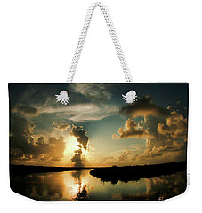 Sunset In Lacombe, La Weekender Tote Bag
