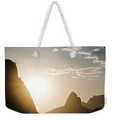 Sunset In Rio De Janeiro, Brazil Weekender Tote Bag