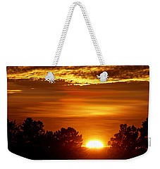 Sunset In Sonoma County Weekender Tote Bag