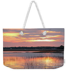 Sunset In South Carolina Weekender Tote Bag