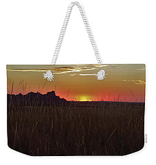Sunset In The Badlands Weekender Tote Bag