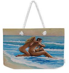 Sunset In The Beach Weekender Tote Bag