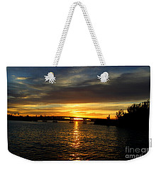 Sunset  In The Bermuda Triangle Weekender Tote Bag