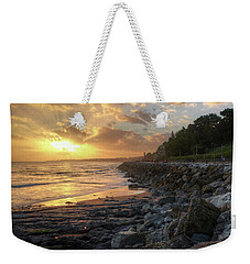 Weekender Tote Bag featuring the photograph Sunset In The Coast by Carlos Caetano