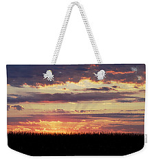Sunset In The Corn Weekender Tote Bag