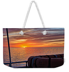 Sunset In The Gulf Weekender Tote Bag