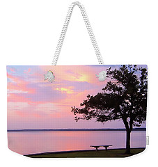 Sunset In The Pass Weekender Tote Bag