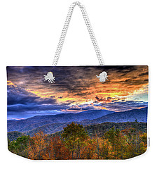 Sunset In The Smokies Weekender Tote Bag