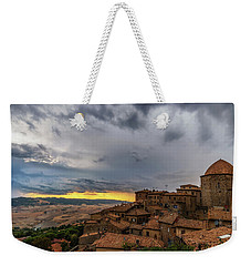 Sunset In Volterra Weekender Tote Bag