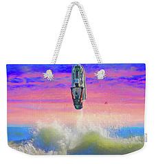 Sunset Jumper Weekender Tote Bag