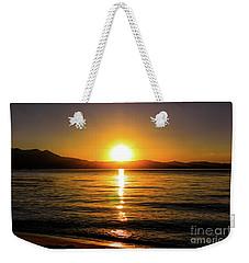 Sunset Lake 1 Weekender Tote Bag