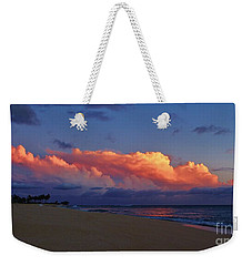 Sunset Looking West Weekender Tote Bag by Craig Wood