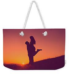 Sunset Love Weekender Tote Bag