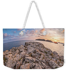 Sunset Malgrats Island Wide Angle Weekender Tote Bag